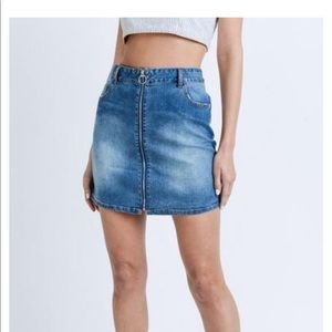 Dresses & Skirts - Casual Denim Skirt